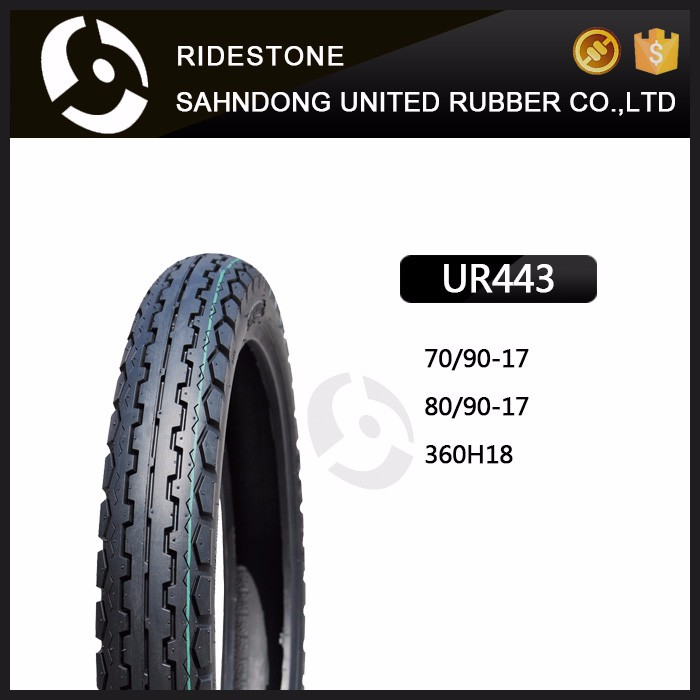 High Quality MOTORCYCLE TUBELESS TIRE 70/90-17 80/90-17 360H18
