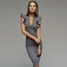 summer autumn fashion sexy pencil dress office lady career