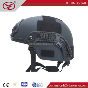 NIJ IIIA stand anti impact light weight military kevlar bulletproof helmet
