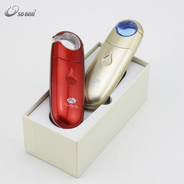 2016 beauty facial care nano mist spray beauty and Hair Salon Handy Mini Spray Mist Air Face Humidifier For Dry Skin