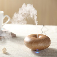 2014 fashion brown wood sunflower oil diffuser