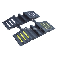 Factory price Dual channels cable protector ramp or Fire Hose Ramp