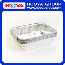 10pcs Square Disposable Aluminum Foil Pans Food Storage Containers Bakeware Pans with Lids
