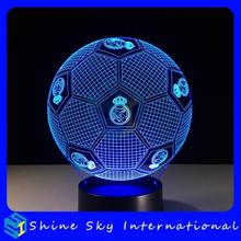 2017 hot selling 3d acrylic children night light,special promotion gift,mermaid night light 3d led lamp