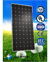 300w monocrystalline solar panel from China manufacturer,low price and high quality for pv system