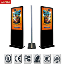 "55"" Floor Standing LCD Advertising Player,TFT LCD media digital signage player"