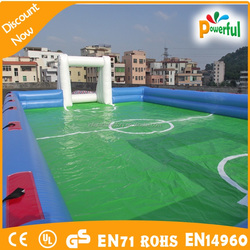 Soccer inflatable soccer school for children
