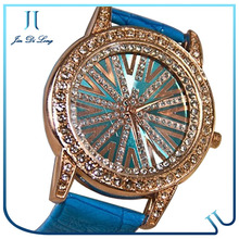 Stylish diamond of watch head five laps light radiance watch touch screen watch phone avatar et1