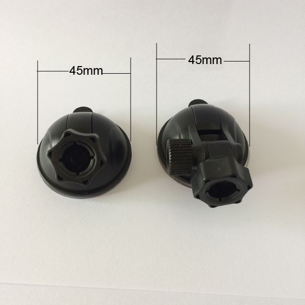 Universal Car Windshield Glass Moving Mount Part 45mm Suction Cups for Ball Head in 12mm diameter