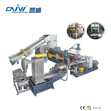 rapid break plastic waste dump granulator with non-pollution