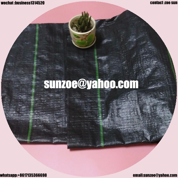 2017 hot style cheap quality polypropylene woven fabric weed mat With Long-term Technical Support