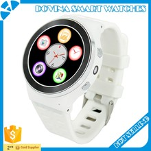 Andriod 5.1 heart rate wifi 3g round smartwatch