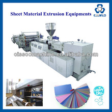 WOOD PLASTIC COMPOSITE SHEET EXTRUSION LINE/WOODEN FLOOR BOARD MAKING MACHINE