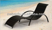 Outdoor Furniture garden rattan lounger wicker daybed metal patio bench