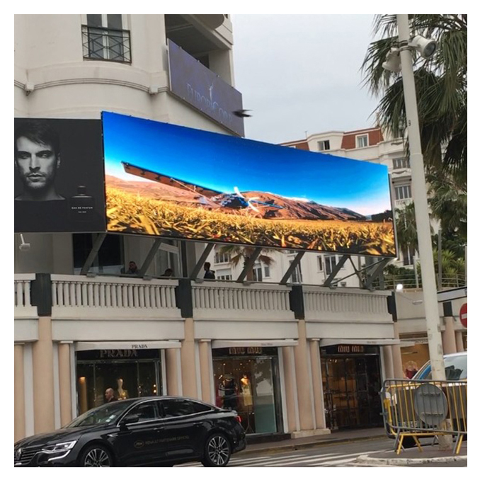 High quality outdoor waterproof full color advertising led panel display P10 SMD outdoor module