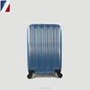 customized logo bag factory ABS trolley luggage suitcase set