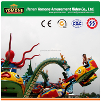 China suppliers funny games rotation big octopus for family rides of park equipment
