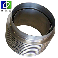 universal metal bellows expansion joint compensator