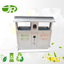 External Commercial Stainless steel Waste Receptacles for Public Space
