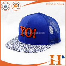 High quality customize snapback cap Hip-Hop summer hat bulk kinds of caps & hats