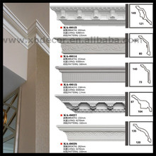 Easy installation painted grade polyurethane cornice Mouldings pu moulding