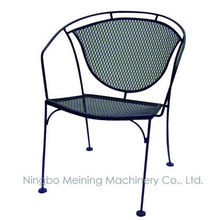 Patio Furniture Metal Mesh Chairs and Table Outdoor furniture Fully Welded Chair