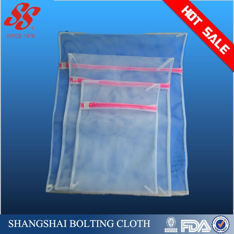 Two Layers Bra Washing Laundry Bags With Zipper