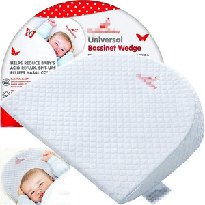 Factory Supply Baby Pillow Wedge For Bed White Wedge Crib Pillow
