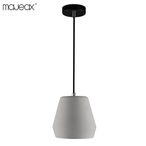 2018 newest modern indoor decorative lighting creative concrete hanging dining room pendant light