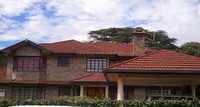 Africa Double color Stone Coated Roofing tiles for villa