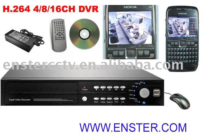 diy cctv,4CH DVR,H.264 COMPRESSION