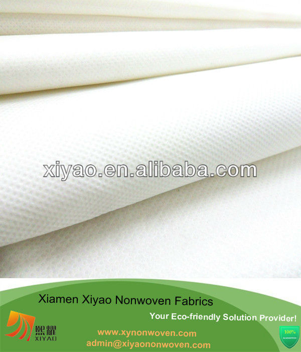 White non woven bed sheet pp spunbond fabric