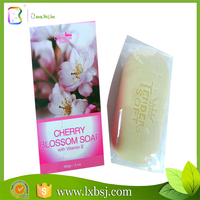 140G cherry blossom with vitaminE revent wrinkles bath soap