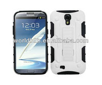 Rubber hard with silicone Case cover + Belt Clip Holster Case For Samsung Galaxy S4 i9500