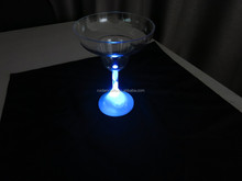 Flashing LED plastic cup novelty light up ice cream cup
