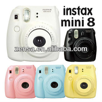 Fujifilm Polaroid Instant Mini 8 Film Camera Fuji Instax Camera ...