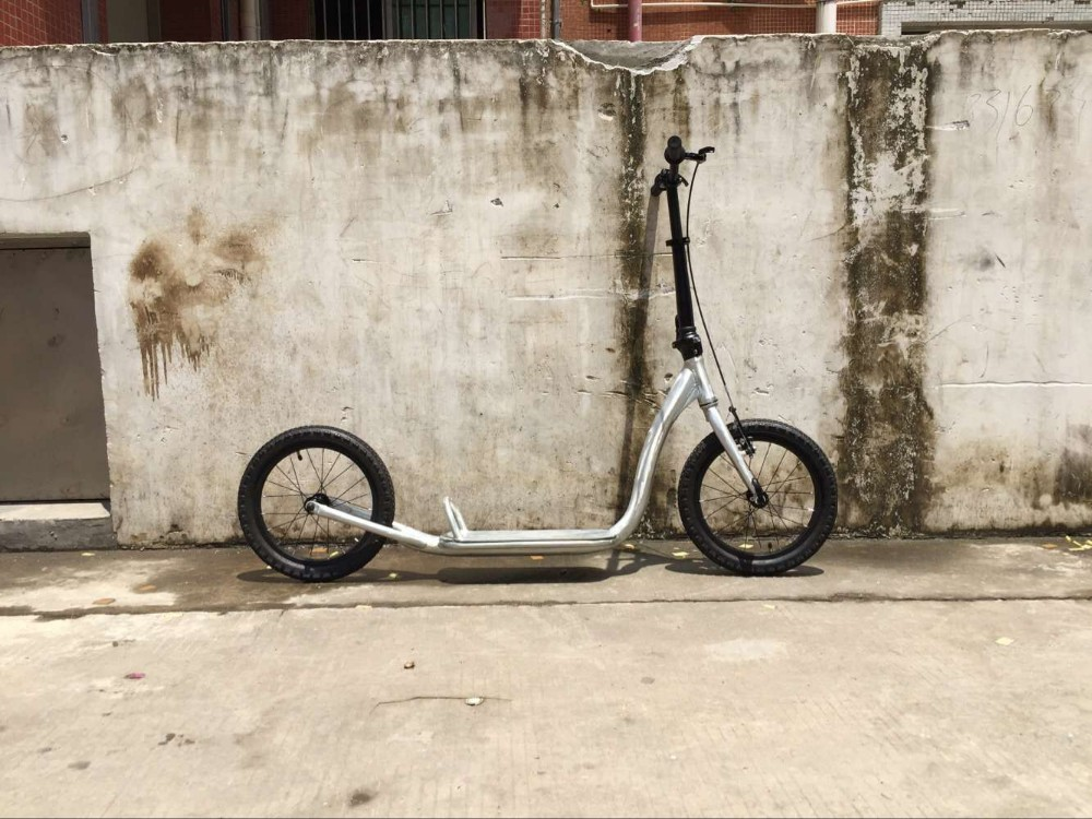 Alloy scooter with V-Brake