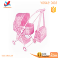 2017 folding stroller 3 in 1 baby doll stroller toys for normal size dolls childeren baby doll carriage