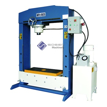 100 ton CE certificate cylinder moving hydraulic press machine