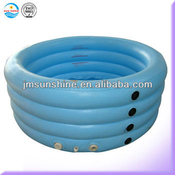 5 ring Inflatable above ground swimming pool