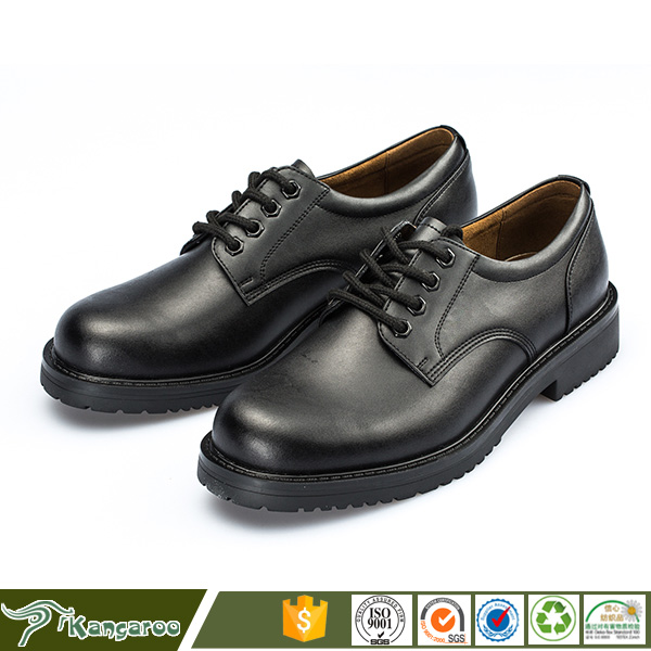 New Model Composite Steel Toe Cap Safety Mens Security Guard Formal Shoes
