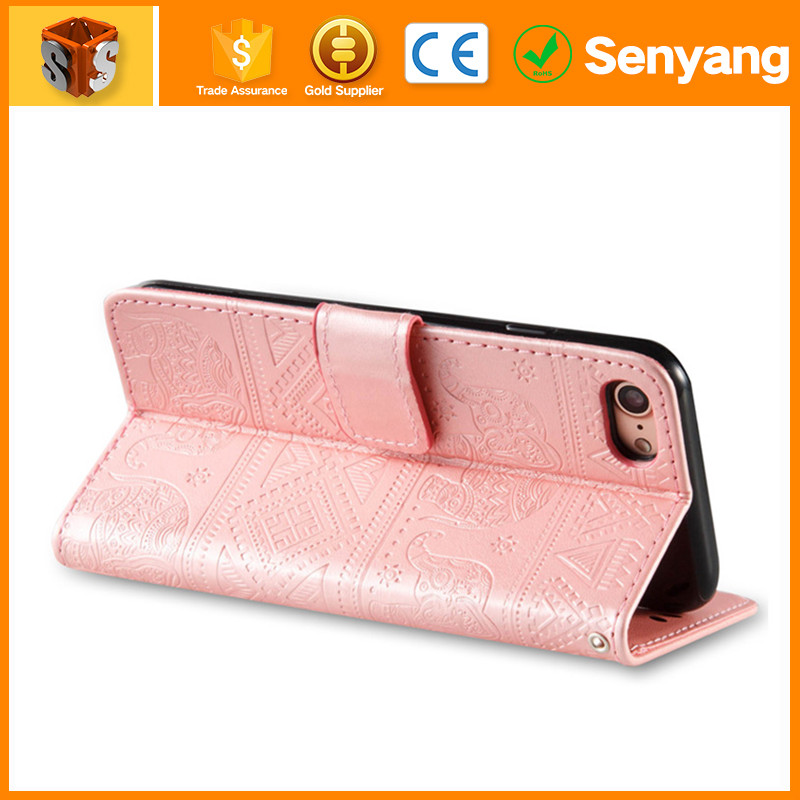 Good price of mobile phone leather keyboard case for iphone 6s