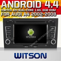 WITSON ANDROID 4.4 CAR DVD PLAYER GPS NAVIGATION FOR AUDI A4 S4 RS4 (2002-2008)