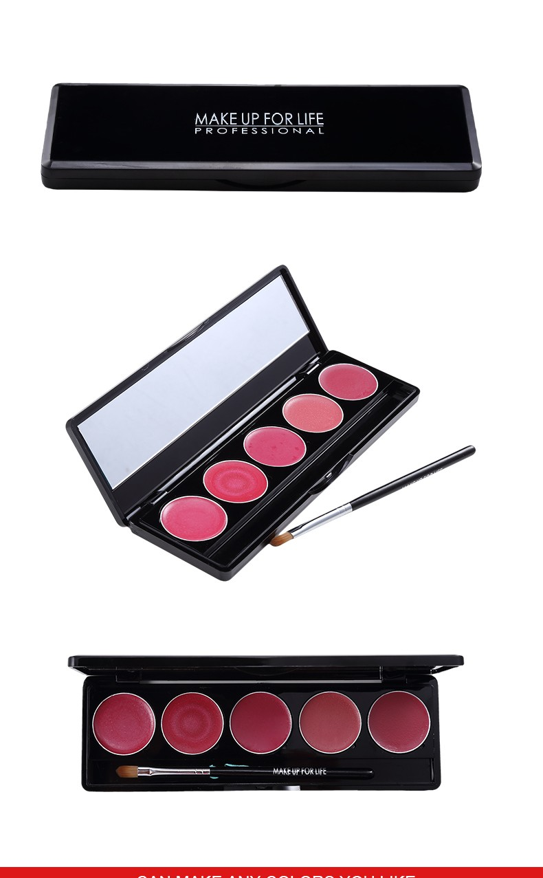 manufacturers doing OEM private label fashion colors magic cosmetic matte natural waterproof long lasting lipstick palette