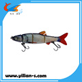 Competitive price plastic multi jointed hard fishing lure