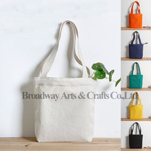 Reusable cotton shopping bags blank cotton tote bag
