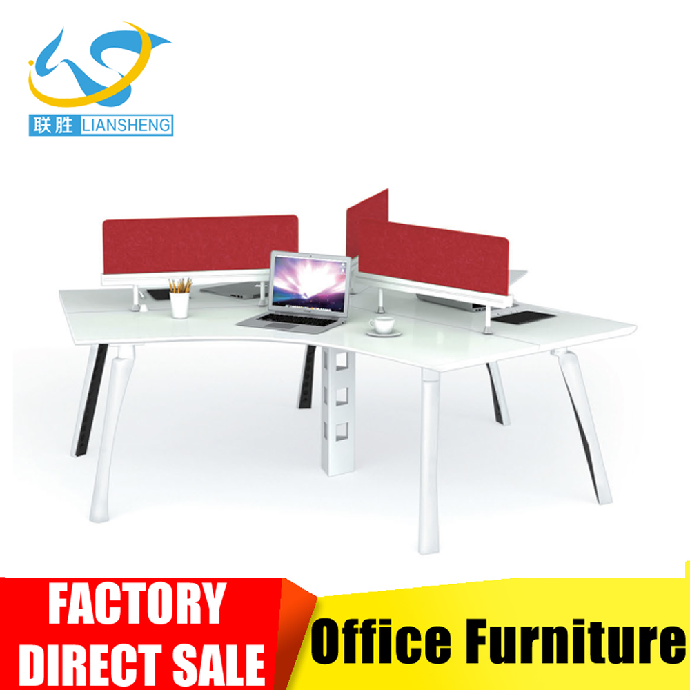 wholesale office cubicle workstation design for 3 person