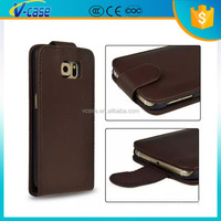 Luxury Cheap Mobile Phone Leather Case For Samsung Galaxy S6