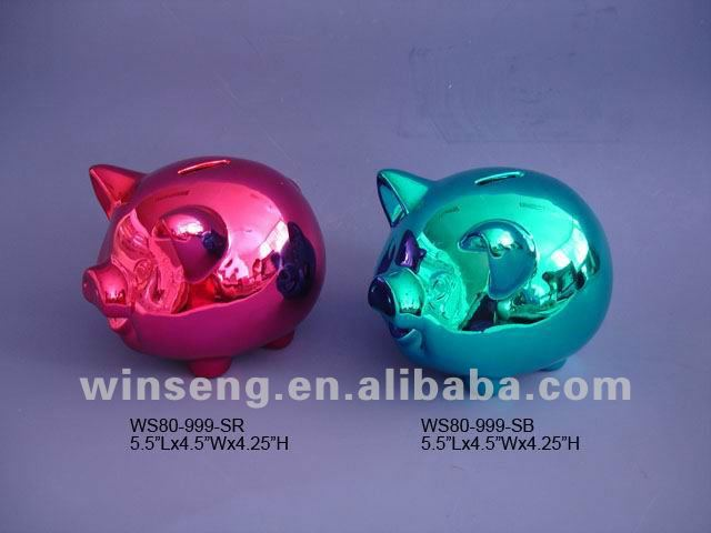 Cute Design Large Ceramic Piggy Bank