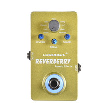 Music Instrument 9V DC 9 Effects Digital Reverb Guitar Pedal